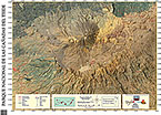 Map of the National Park of Teide in cartography Magazine - EOSGIS Cartografia Magazine