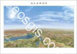 Panorama 3D of Alange reservoir and its surroundings - EOSGIS Cartografia Magazine