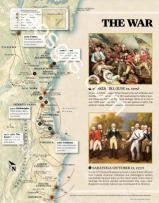 Map of Washington: the United States war of independence - EOSGIS Cartografia Magazine