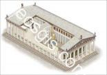 3D drawing of the Parthenon - EOSGIS Cartografia Magazine